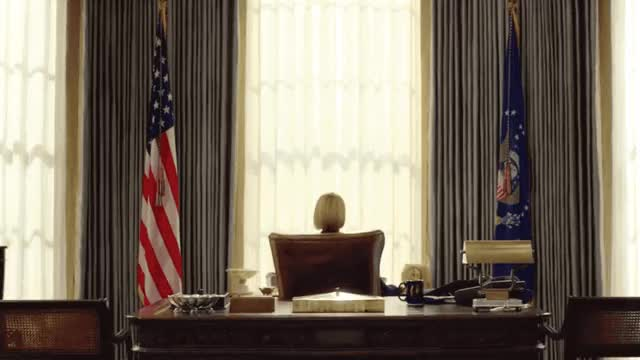 Watch this house of cards GIF by GIF Queen (@ioanna) on Gfycat. Discover more around, cards, day, hello, house, of, office, president, robin wright, tough, turn, usa, wait, waiting, white, women, women's GIFs on Gfycat