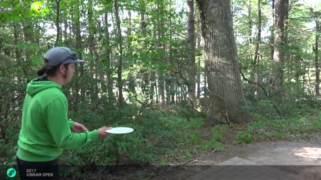 Watch 2017 Vibram Open | Barsby parks it, forehand firebird | Round 2, hole 6 GIF by Ultiworld Disc Golf (@ultiworlddg) on Gfycat. Discover more related GIFs on Gfycat