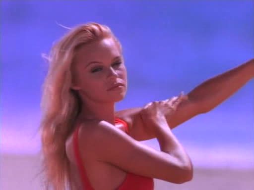 baywatch, pam anderson, pamela anderson, Pamela Anderson back in her Baywatch days(MIC) (reddit) GIFs
