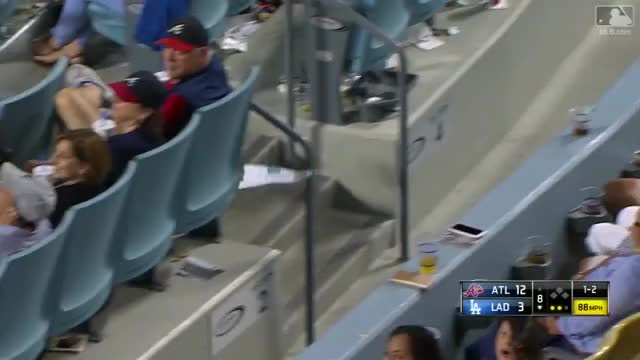 Watch and share Dodgers Fans Throw Paper Planes GIFs on Gfycat