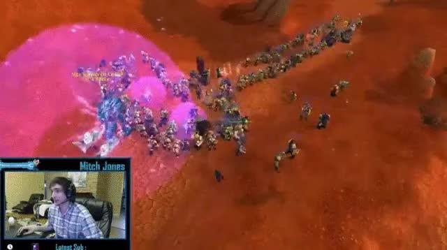 Mitch Jones creates a dick in World of Warcraft.