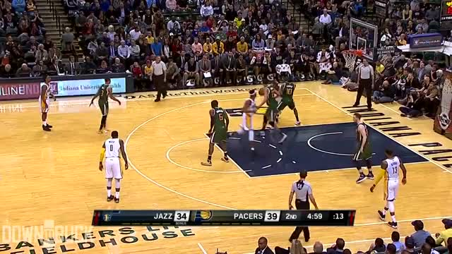 Watch and share Rudy Gobert GIFs and Highlights GIFs by Razzball on Gfycat