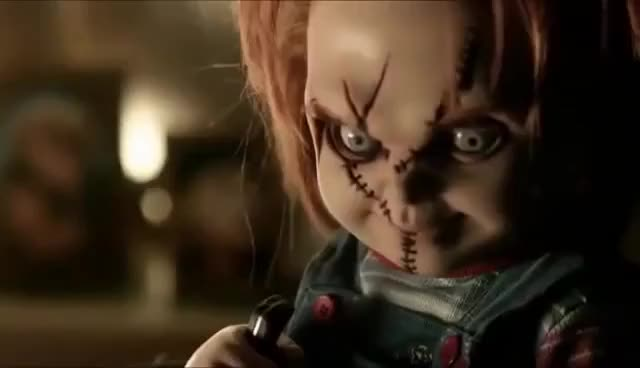Watch Curse of Chucky Andy surprises Chucky GIF on Gfycat. Discover more Curse of Chucky GIFs on Gfycat