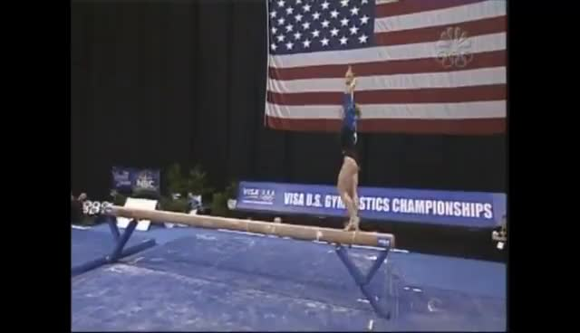 Courtney Kupets, gymnastics, Courtney Kupets 2004 Nationals GIFs