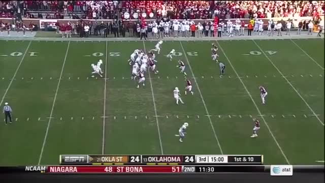 Watch and share Josh Stewart 75-yard TD Bedlam 2012 GIFs by Pistols Firing on Gfycat