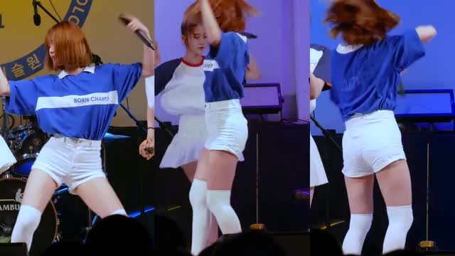 Watch and share Oh My Girl GIFs and Kpopfap GIFs by FIGHTFAN see me on Youtube  on Gfycat