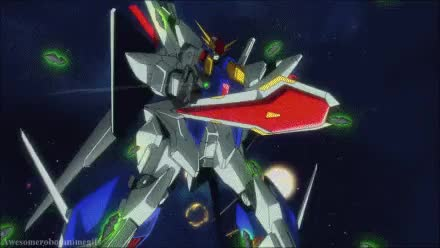 Watch and share Super Fumina GIFs and Gundam GIFs on Gfycat