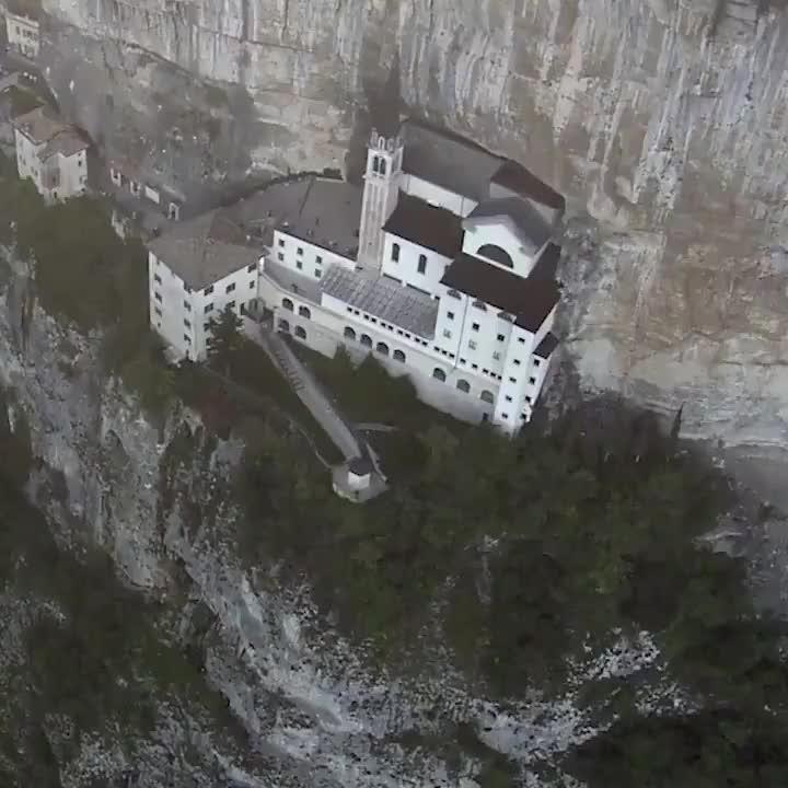 , r/sciences, architecture, science, Sanctuary of Madonna della Corona GIFs