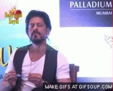 Watch and share Shah Rukh Khan Book 1 GIFs on Gfycat