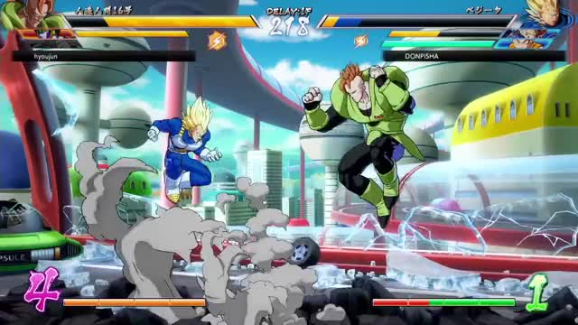 Watch and share Dragonball Fighterz GIFs and Sanninshow GIFs on Gfycat