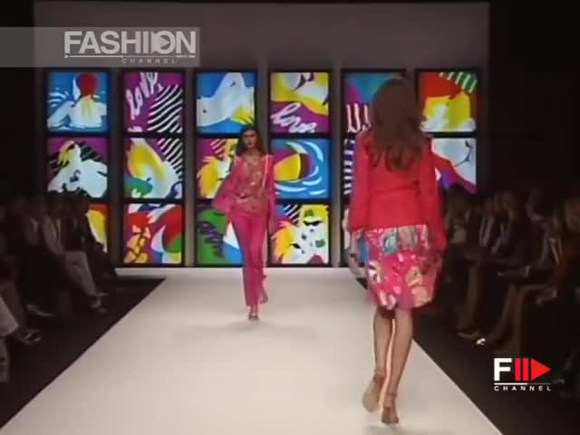 Watch and share Enrico Coveri GIFs and Ss06 GIFs by fashion show on Gfycat