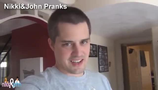 Cake, Caked, Nikki & John Pranks, Prank, Pranksters in Love, Nikki & John Pranks Caked GIFs