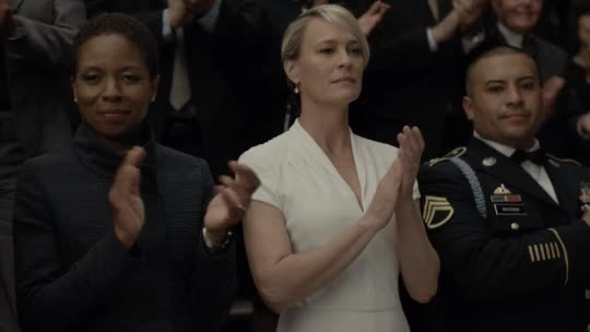 applause, clapping, robin wright,  GIFs