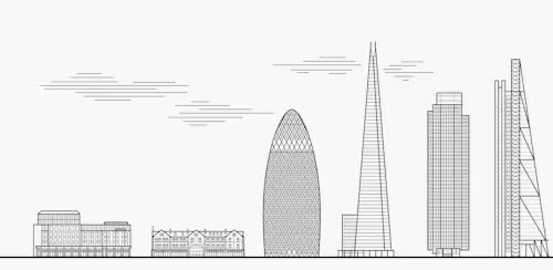 Watch and share Buildings Of London GIFs and Graphic Design GIFs on Gfycat