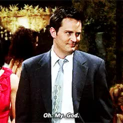 Watch and share I'm Still Laughing GIFs and Chandler Bing GIFs on Gfycat