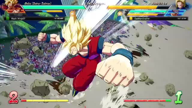 Watch and share DRAGON BALL FighterZ Open Beta 20180115191659 GIFs by datniggaovader on Gfycat