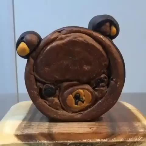 Watch and share Bear Bread GIFs by Boojibs on Gfycat