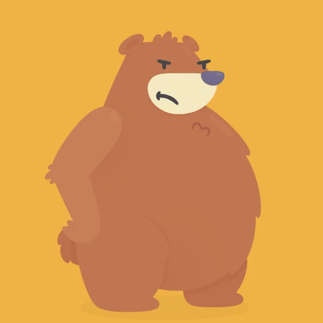 Watch Angry Bear Hopper GIF by Hopper (@hopperapp) on Gfycat. Discover more angry, annoyed, brava, bravo, colere, enojado, fache, furieux, furious, grr, mad, offended, outrage, pissed, rage, temper, zangado GIFs on Gfycat