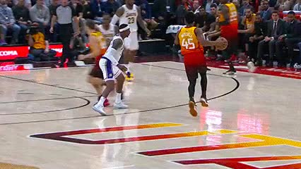 Watch and share Donovan Mitchell — Utah Jazz GIFs by Off-Hand on Gfycat