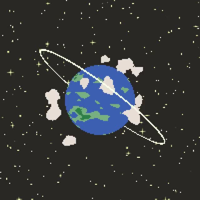 Watch and share Pixel Planet GIFs by Space_Can on Gfycat