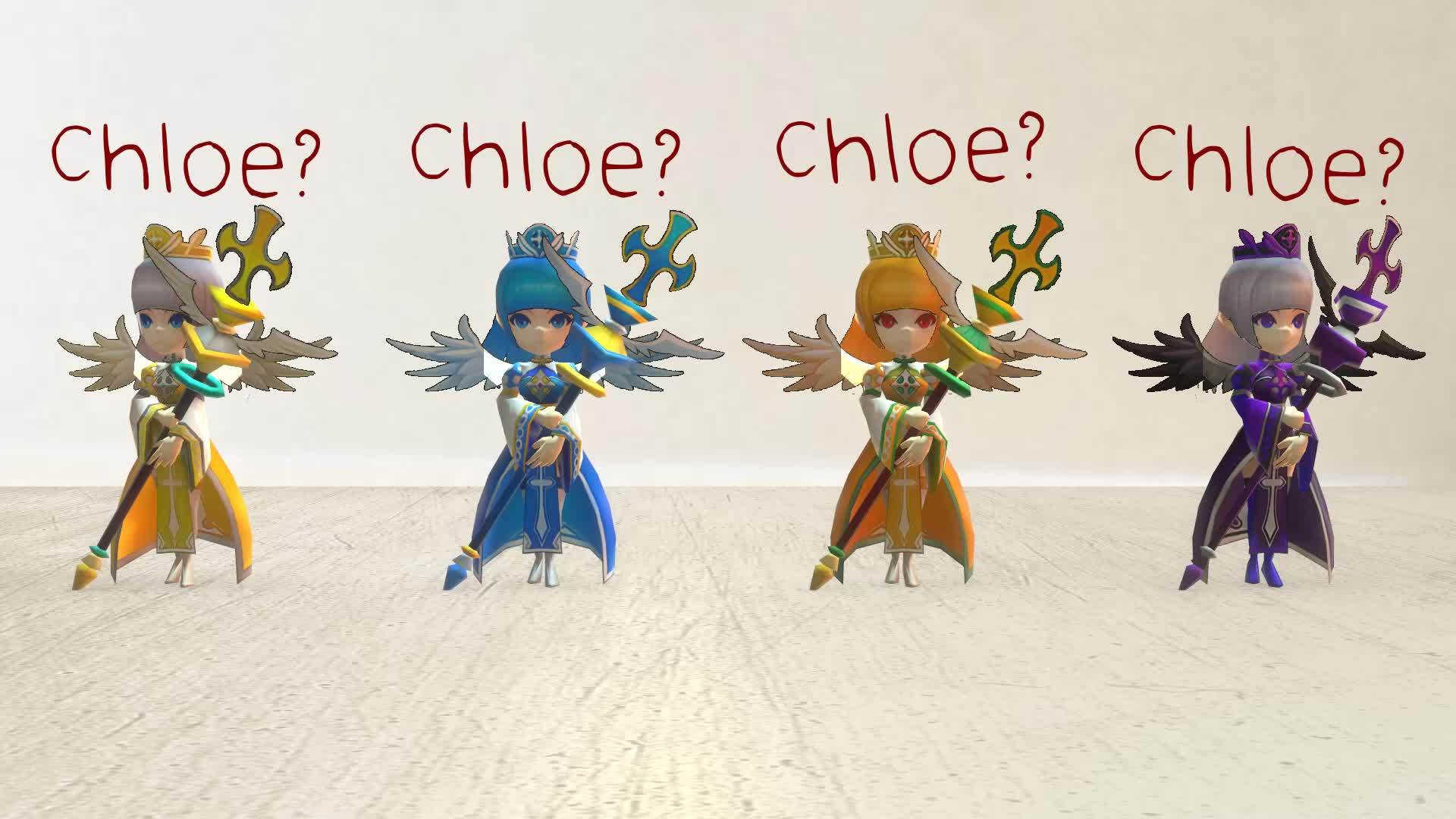 summonerswar, Have you seen our Sister, Chloe? [Summoners War 3D Render] GIFs