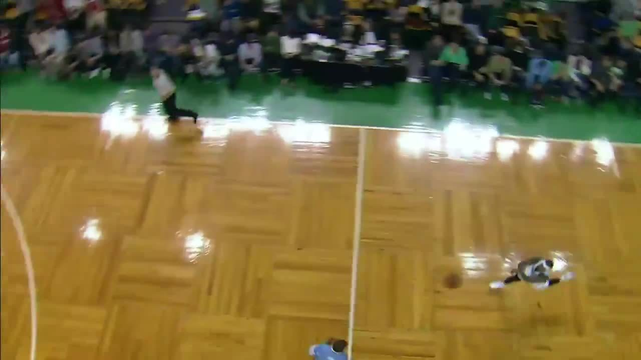SlyGifs, nba, Blake Griffin pulls out the rare 180 degree block (reddit) GIFs