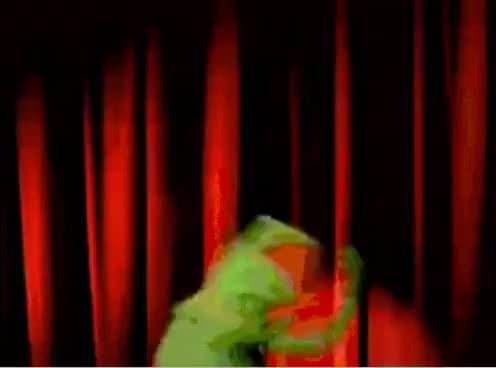 Watch Kermit Yaaaaay GIF on Gfycat. Discover more kermit GIFs on Gfycat