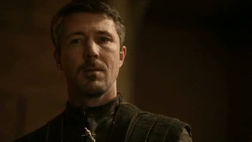 Watch and share Littlefinger Worried GIFs on Gfycat