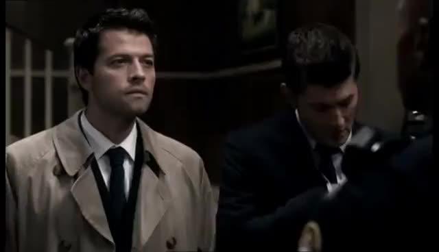 Watch Castiel FBI GIF on Gfycat. Discover more jensen ackles, misha collins GIFs on Gfycat