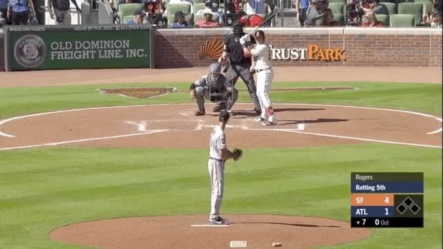 Watch and share Atlanta Braves GIFs and Baseball GIFs by Meg Rowley on Gfycat