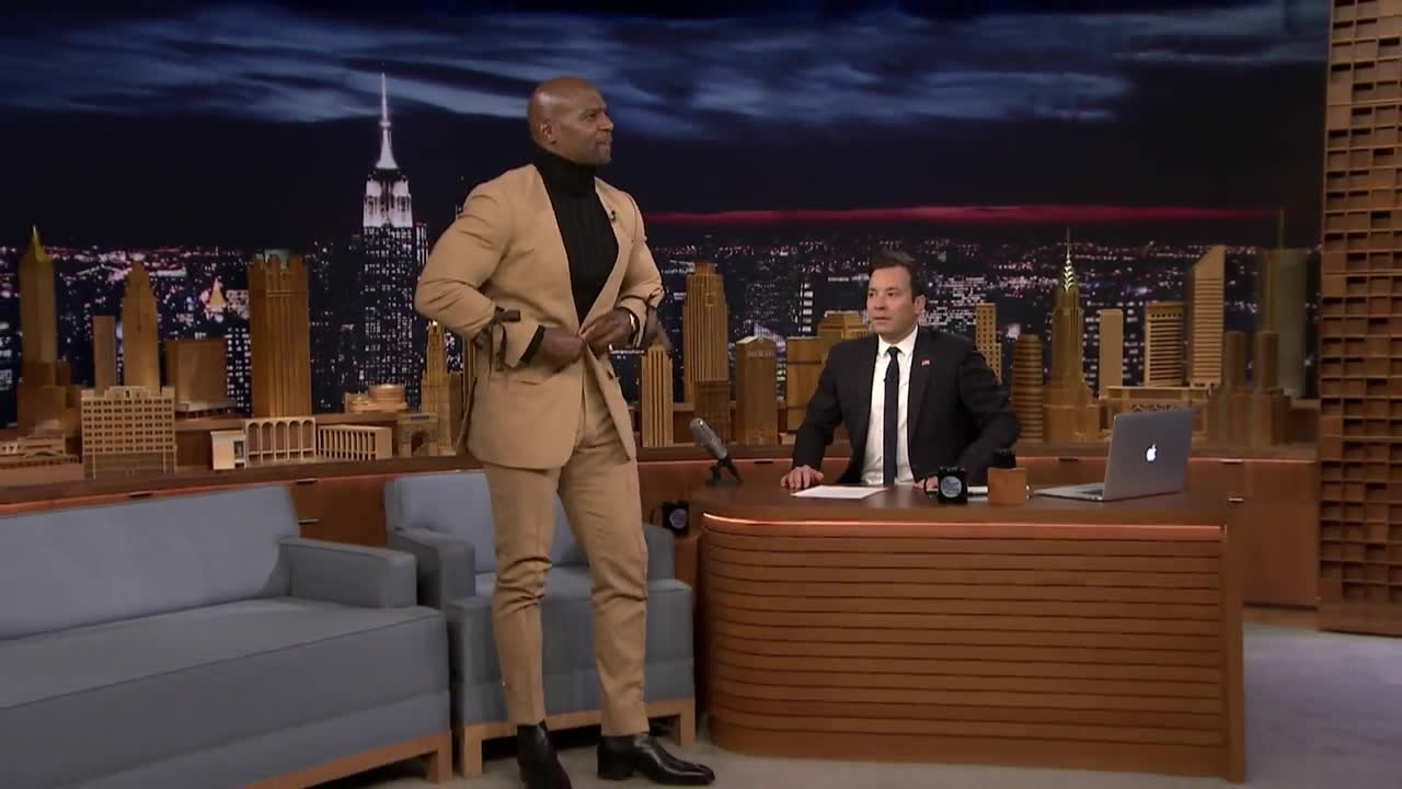 botsrights, funny, Terry Crews Does the Greatest Robot of All Time GIFs