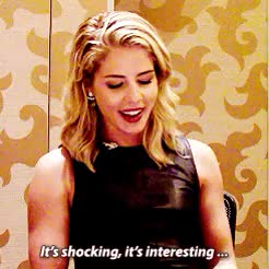 Watch Emily Bett Rickards when asked about being a fan favorite, p GIF on Gfycat. Discover more *, 600, arrowladiesdaily, ebredit, emily and fans, emily bett rickards, emily sdcc 2015, emilygifs, sdcc2015 GIFs on Gfycat