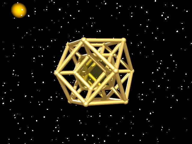 Watch and share Polychoron GIFs and Geometry GIFs by Stéphane Lambert on Gfycat