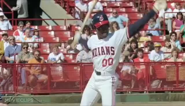 Watch and share Oops (Willie Mays Hayes) - Major League GIFs on Gfycat