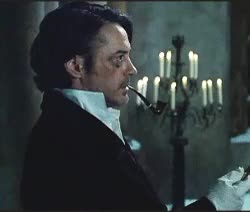 """Watch """"I seem to have injured my shoulder. Would you mind?""""""""Be my  GIF on Gfycat. Discover more AGOS, James Moriarty, Jared Harris, RDJ Holmes, Robert Downey Jr, Sherlock Holmes, Sherlock Holmes: A game of shadows, Sherlock Holmes; A game of shadows, my first timer gifs, ritchieverse GIFs on Gfycat"""