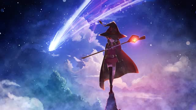 Watch and share Konosuba-Megumin-60Fps-Live-Wallpaper GIFs on Gfycat