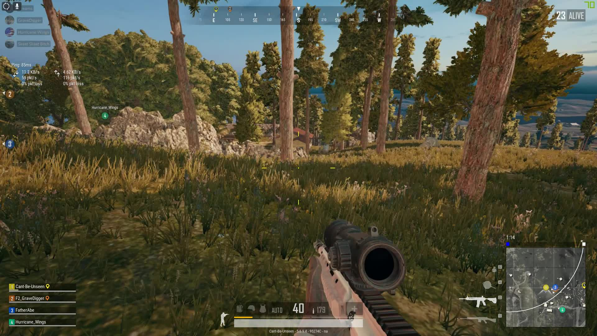 pubattlegrounds, pubg, 6x M4 Sprayyy GIFs