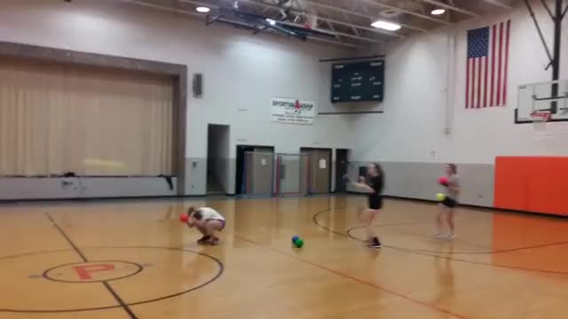 Watch Let's play dodgeball with a softball player. WCGW? GIF on Gfycat. Discover more wcgw GIFs on Gfycat