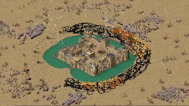 Watch Stronghold Crusader HD Castle Siege GIF by SergiuHellDragoonHQ (@sergiuhelldragoonhq) on Gfycat. Discover more Stronghold, Stronghold Crusader, video game GIFs on Gfycat