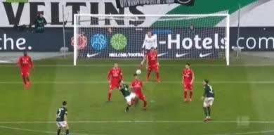 Watch and share Bundesliga GIFs and Wolfsburg GIFs by Emmett on Gfycat