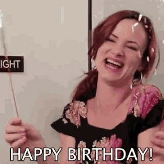 funny or die, happy bday, happy birthday, Happy birthday! with sparklers GIFs