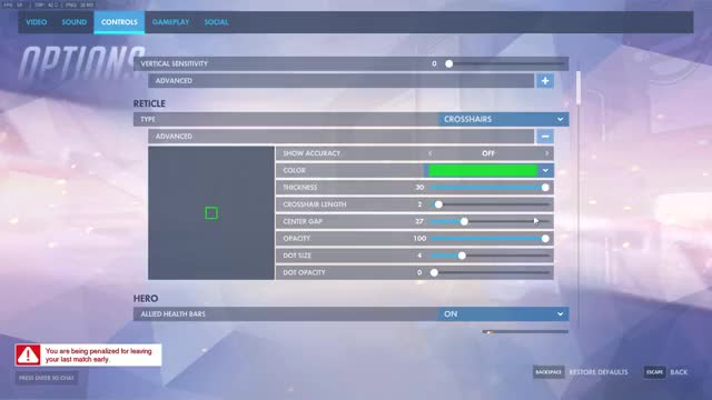 Watch and share Square Crosshair With New PTR Settings (reddit) GIFs by stdmachine on Gfycat
