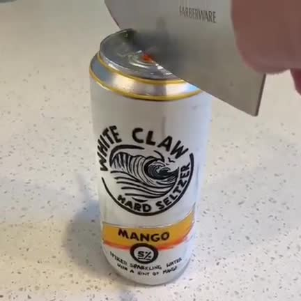 Watch and share Cut In Half GIFs and White Claw GIFs by dwightmcclusky on Gfycat