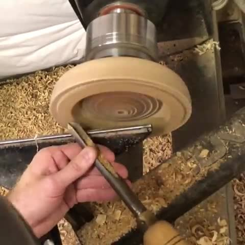 Carving out the inside of a bowl GIFs