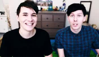 Watch and share Daniel Howell GIFs and Amazingphil GIFs on Gfycat