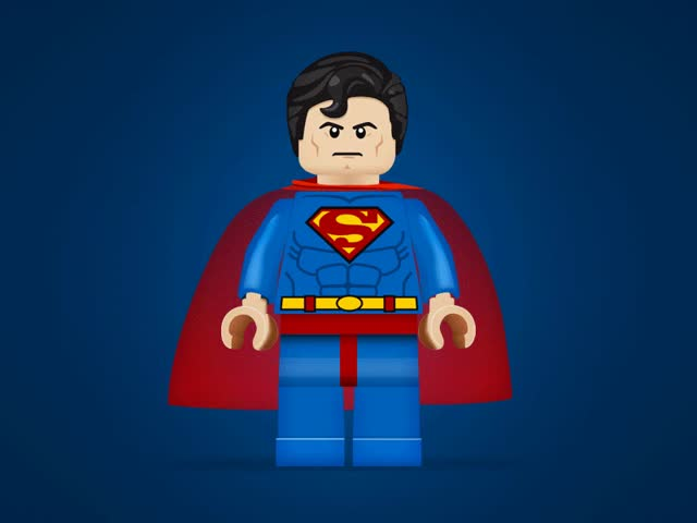 Watch and share Superman Lego Character Redesigned In Ai And Ps. Just For Fun! GIFs on Gfycat