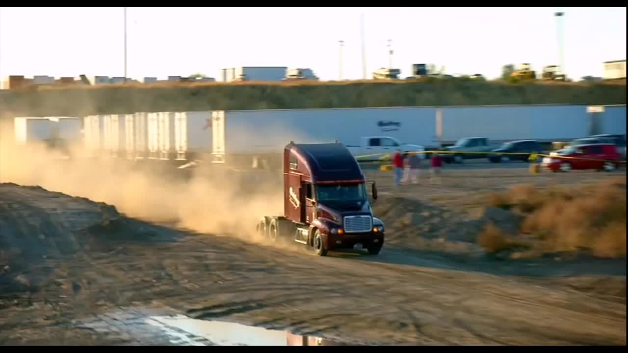 Nitro Circus Semi Truck Ramp Jump By Godfrey Trucking GIFs