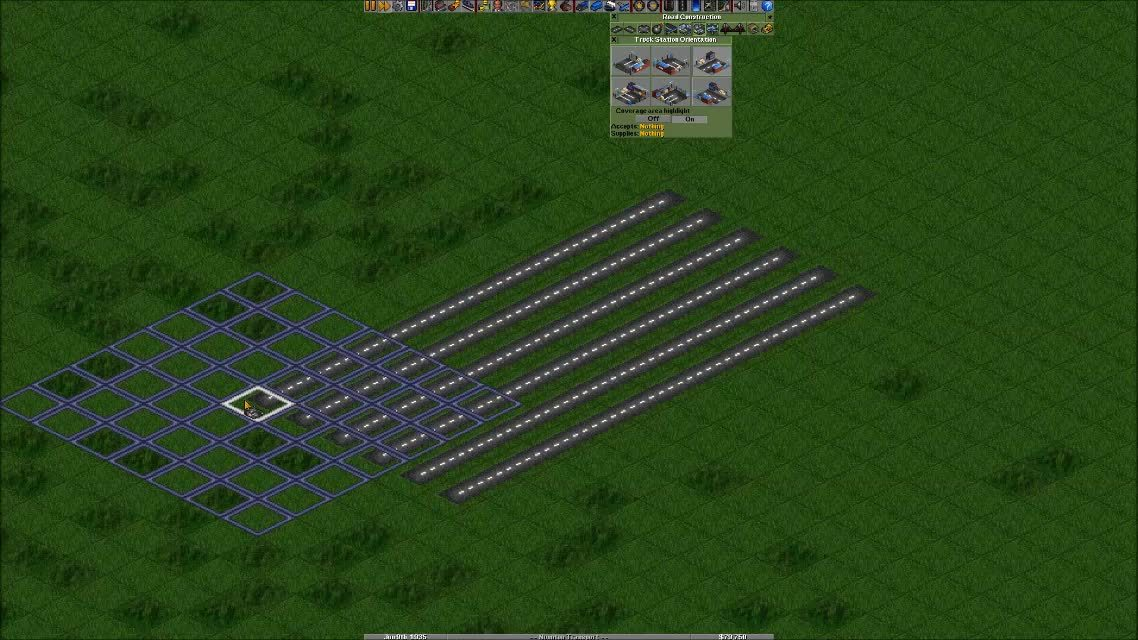 openttd, Placing Stations GIFs