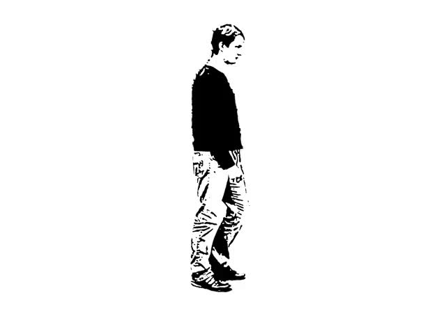 Watch and share Walking Man Animated GIFs on Gfycat