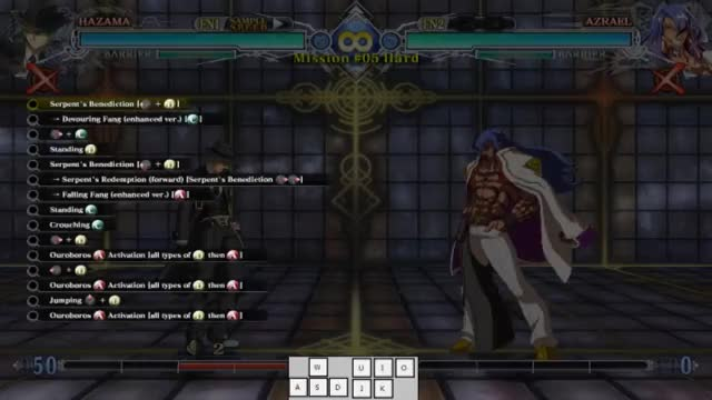 Watch BBCF: Hazama Hard 5 on Keyboard GIF by snuffychris605 (@snuffychris605) on Gfycat. Discover more related GIFs on Gfycat